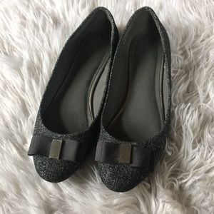 Banana Republic Charcoal Grey Flats Size 9